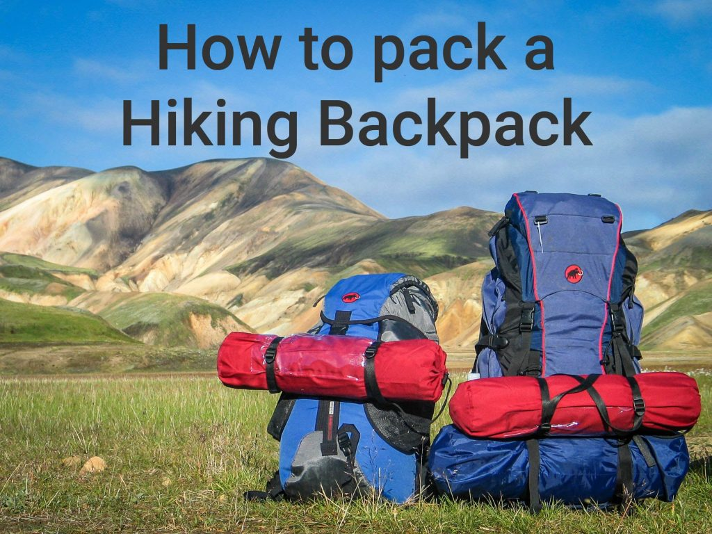 How to pack hiking backpack