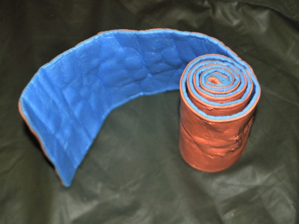 How to roll a sleeping bag