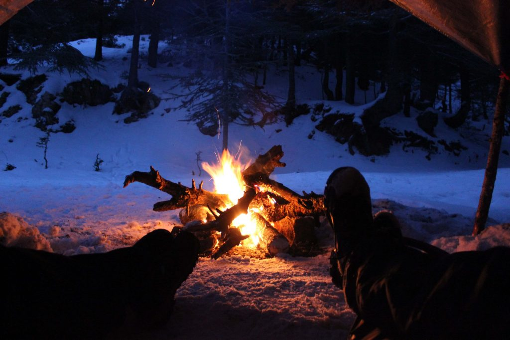 winter camping essentials